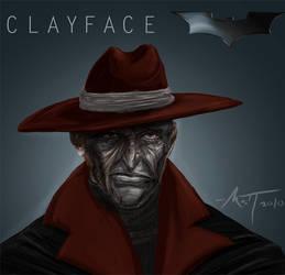 Clayface concept art by Mattius2011