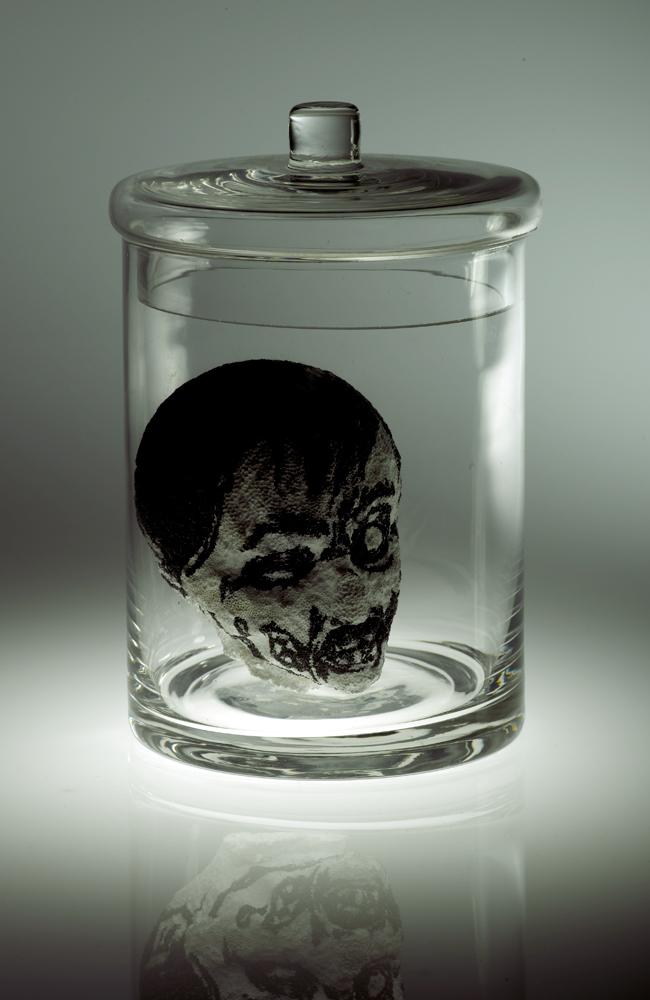 Shrunken Zombie Head by filthyrich