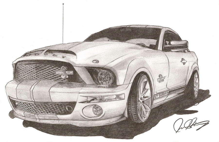2008 GT500 KR Cobra by BRHBumbleBee