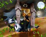 Bastet by puppet-soul