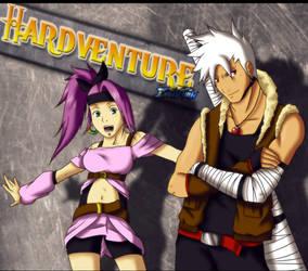 Hardventure -Raven y Melian- Fan Art by KioRaka