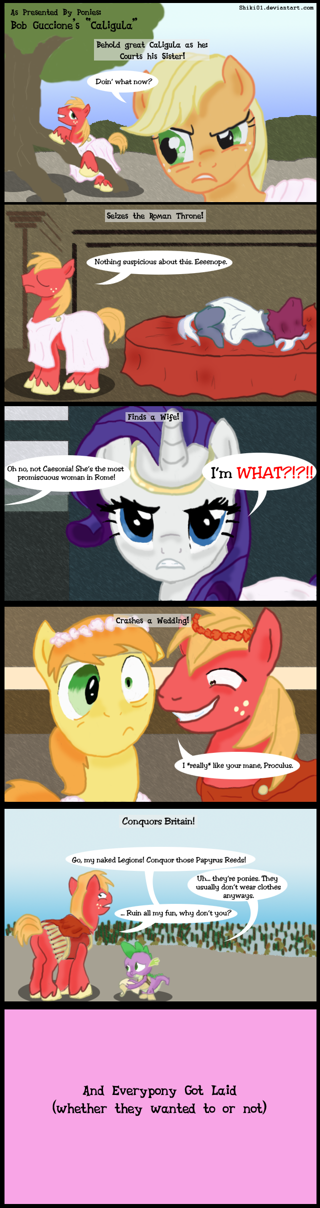 As Presented By Ponies 3: Caligula by Shiki01