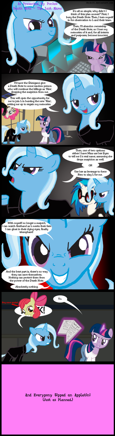 As Presented By Ponies 9: DN - The Last Name by Shiki01
