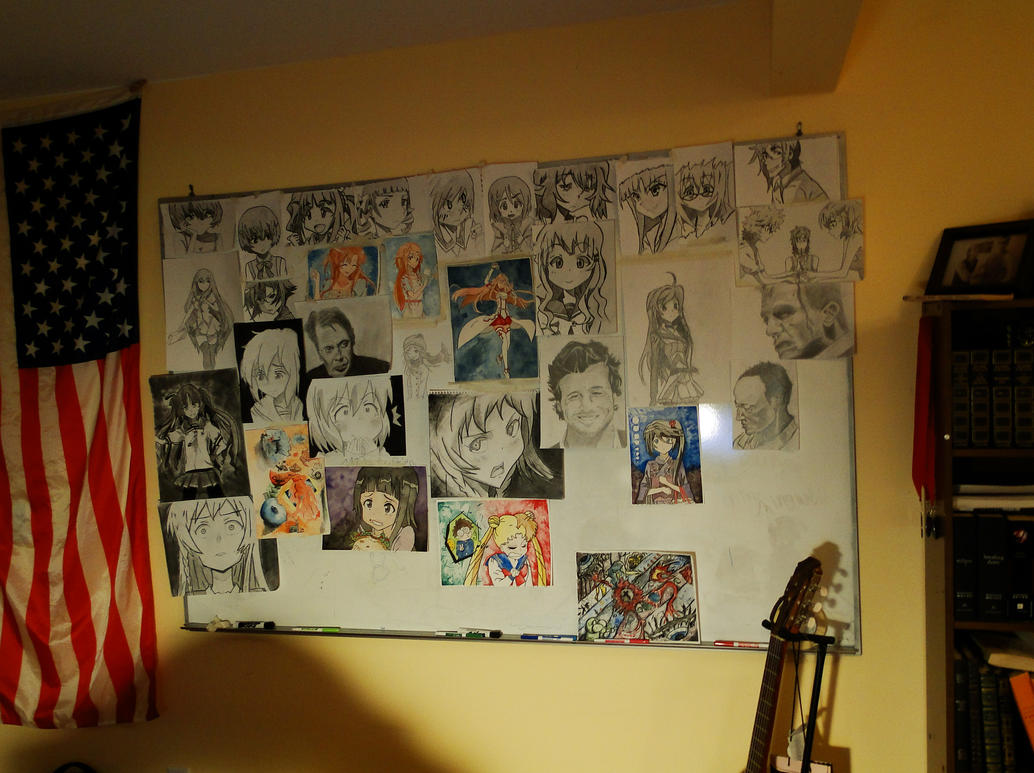 Anime Wall by thunderdogs