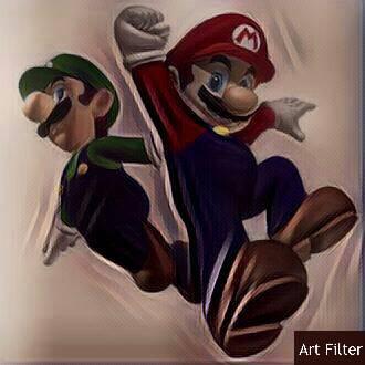 Mario and Luigi by superluigigirl