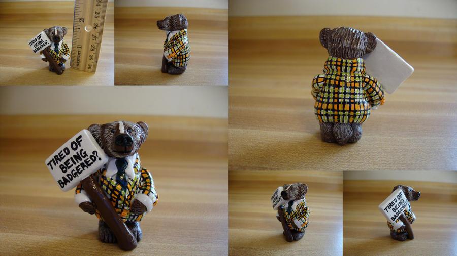 Badger Car Salesman Doll For Sale