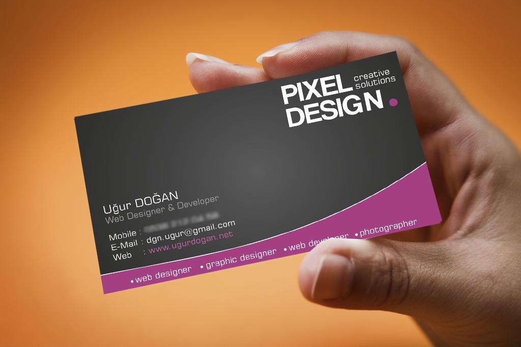 Business Card - Sample by Mottcalem on DeviantArt