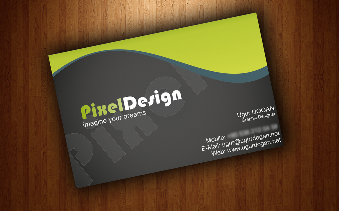 Business Card   Sample By Mottcalem ...