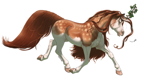 Commission: Ananassa for LuckyOwl358