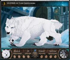 Hvalla   Ulla of Clan Grizzlehorn