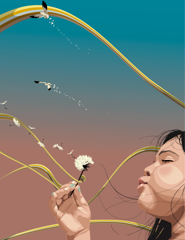 'ON WIND' by Noyna01