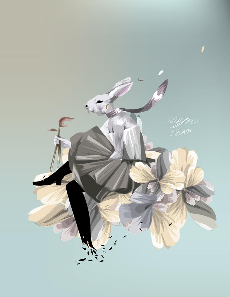 RABBIT SHE WILL DIE by Noyna01