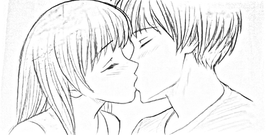 Manga Anime Project Kiss Couple Love Boy Girl By Miriam77cissy On