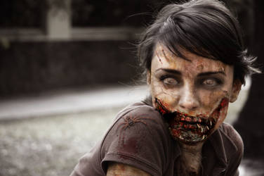Zombie Chick by kevex777