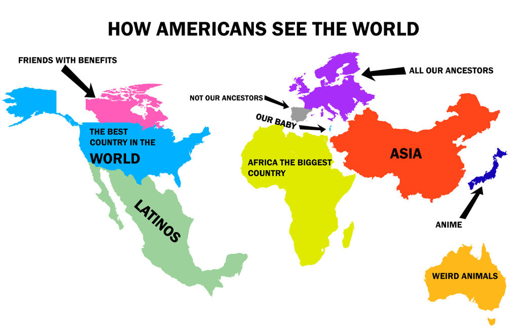 How-Americans-see-the-world by  Americans