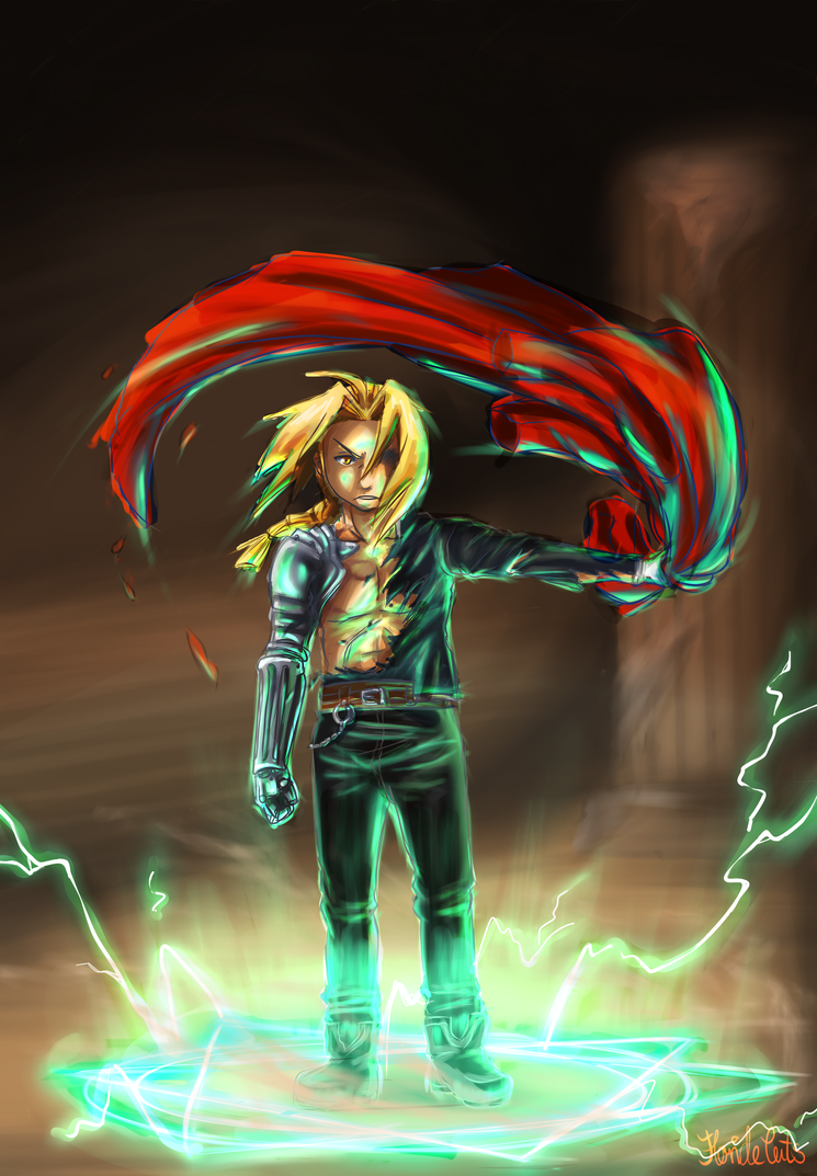 Edward Elric by FlorideCuts