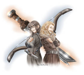 Sword and Bow