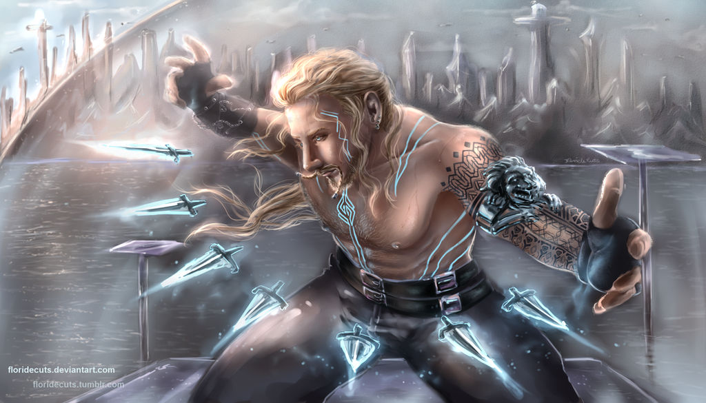 Fili, Master of Blades by FlorideCuts
