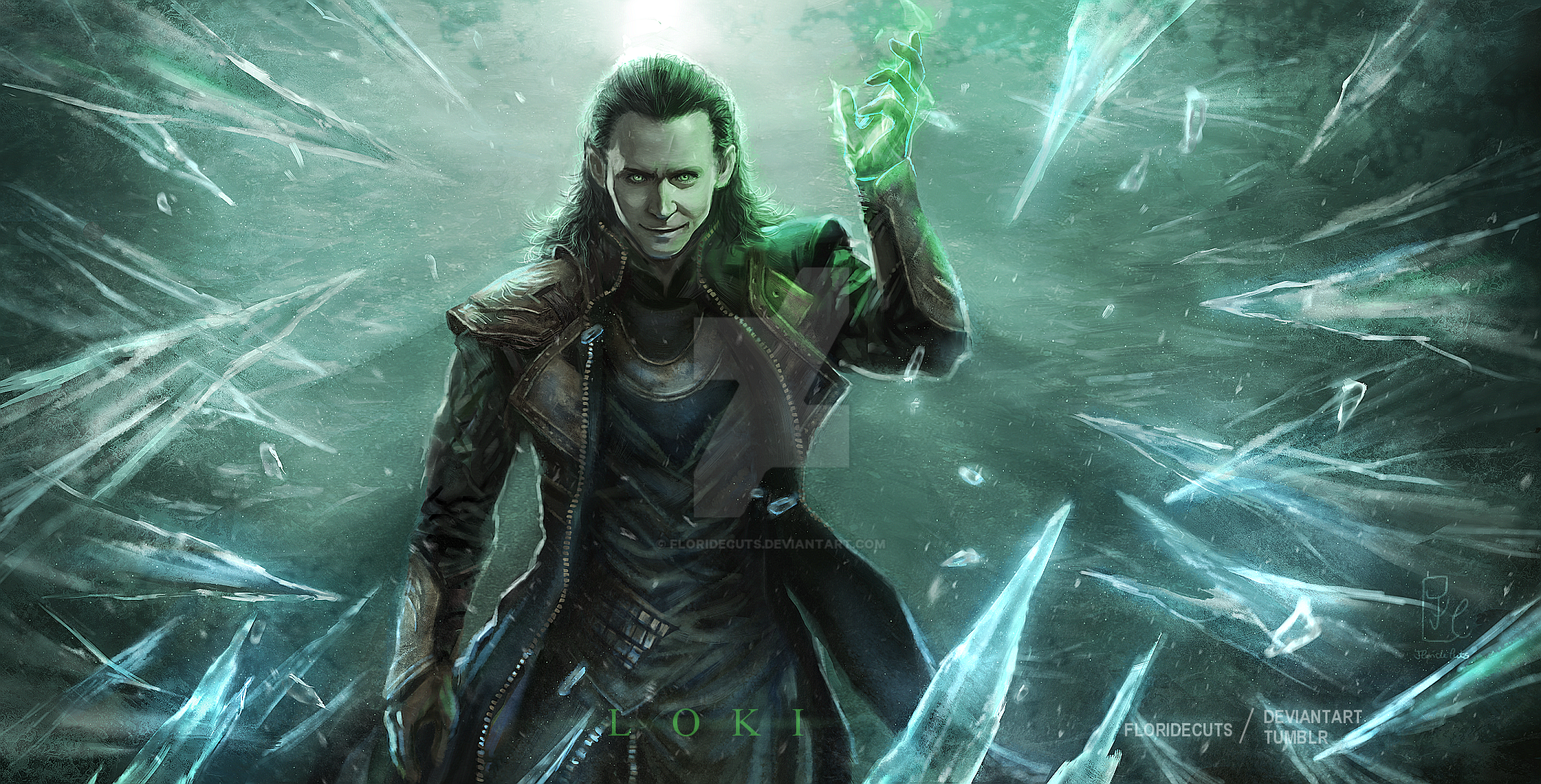 God of Mischief by FlorideCuts on DeviantArt