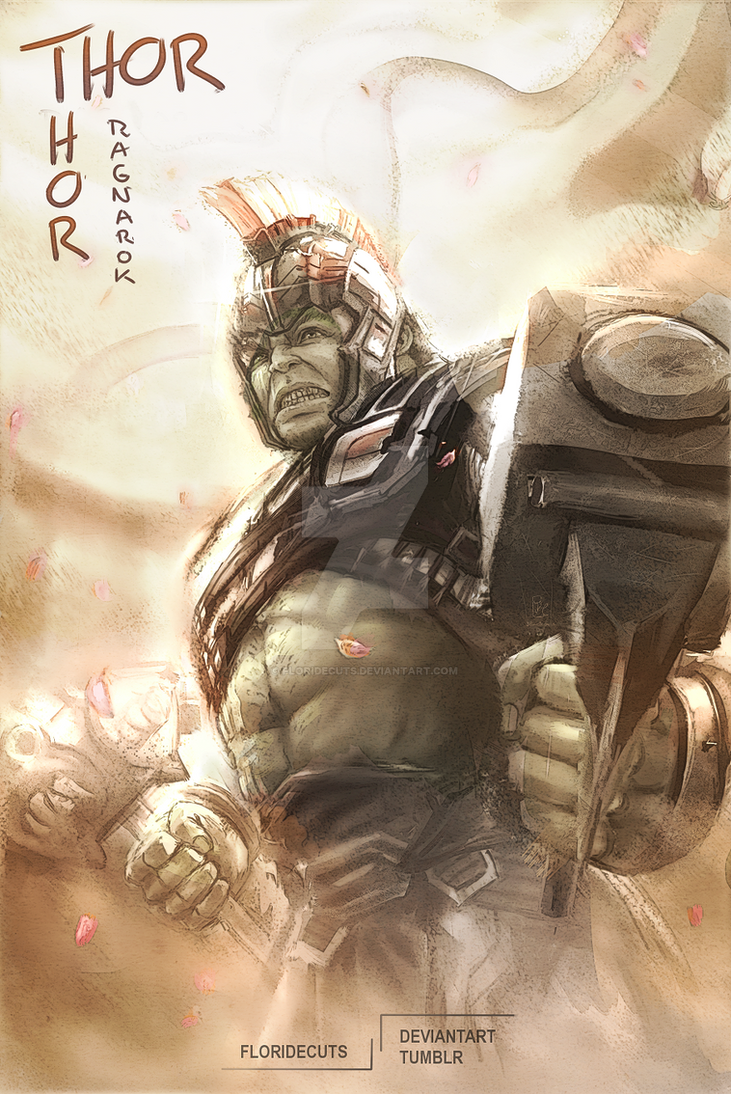 Thor Ragnarok: Hulk by FlorideCuts