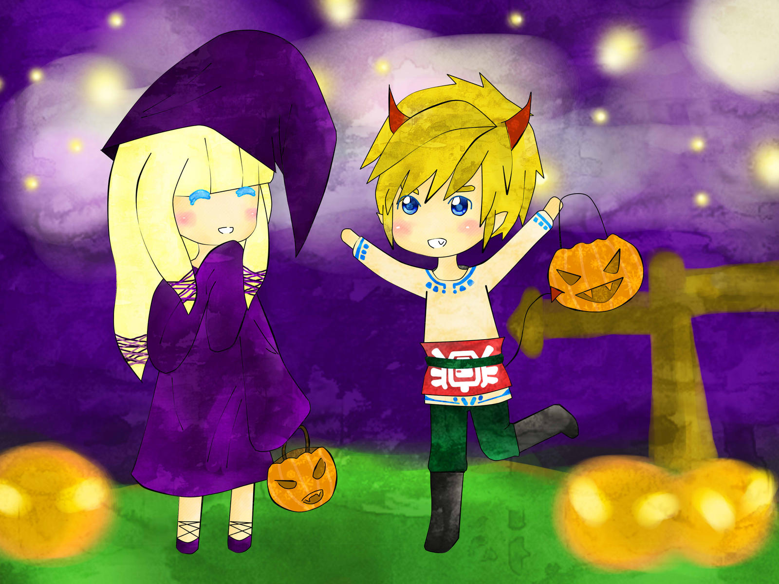 Skyward Sword!ZeLink: Halloween Contest by SoulSilverDesu ... Zelink Skyward Sword