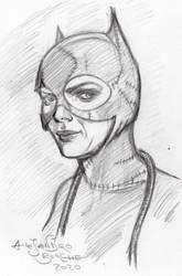 Catwoman Michelle Pfeiffer by aleldan
