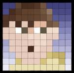 Pixeled Selfportrait