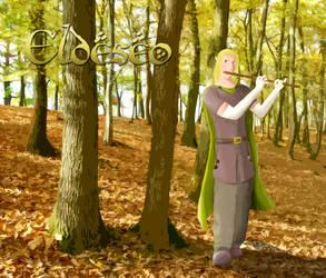 Eldeseo,  un elfo silvano
