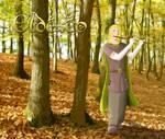 Eldeseo,  un elfo silvano by santiagodn