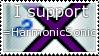HarmonicSonic support stamp by SimbaTheHuman