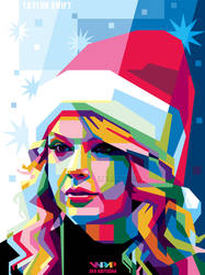 Taylor Swift 1 in WPAP by ekoabiyudha