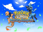 Pokemon Super Mystery Dungeon comic - Cover
