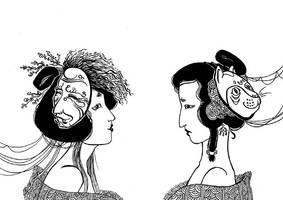 Masks by Brathanaelle