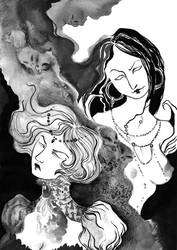 Raxxon -bad- girls by Brathanaelle