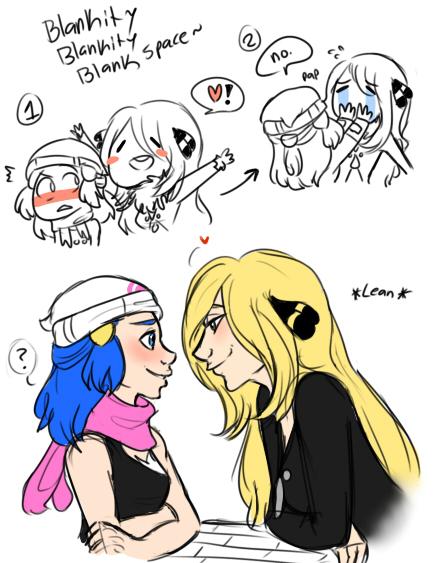 Dawn and cynthia kiss