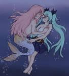sad mermaid!negitoro