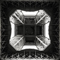 Eiffel tower I by milan-massa