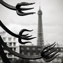 Eiffel tower II by milan-massa