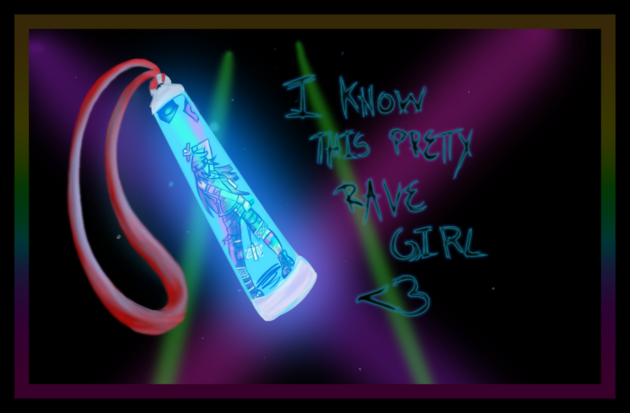 i know this pretty rave girl № 648157