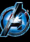 avengers logotype - quantum kingdom