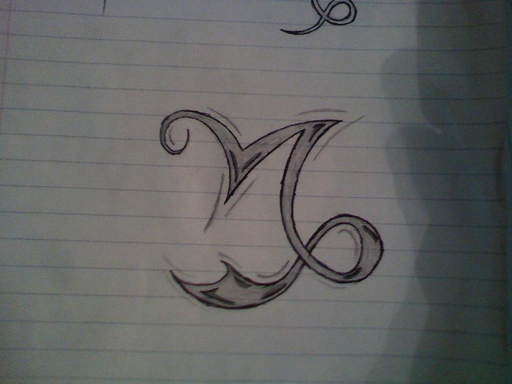 Capricorn Sign Tribal