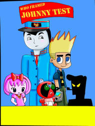 Who Framed Johnny Test? Poster