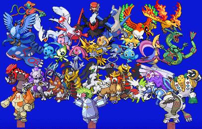 All legendary pokemon by kennypwnage on deviantart - Pokemon platine legendaire ...