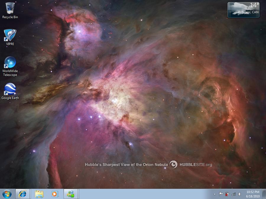 Orion Nebula by FuzennoTenshi