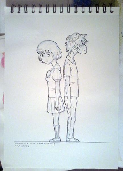 DSC Tonari no Seki-kun by Hieloh