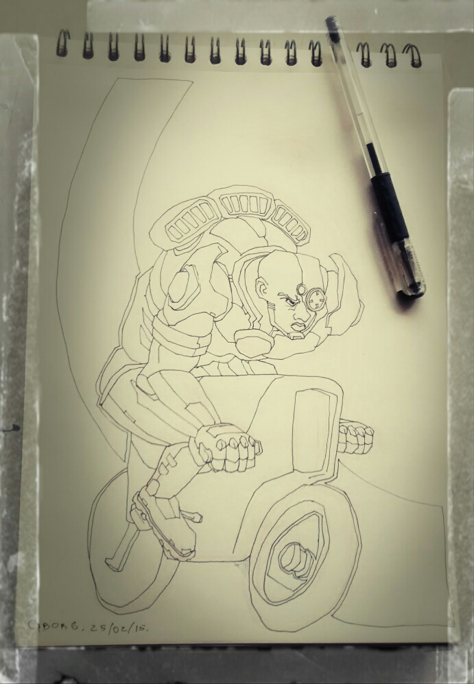 DSC Cyborg by Hieloh