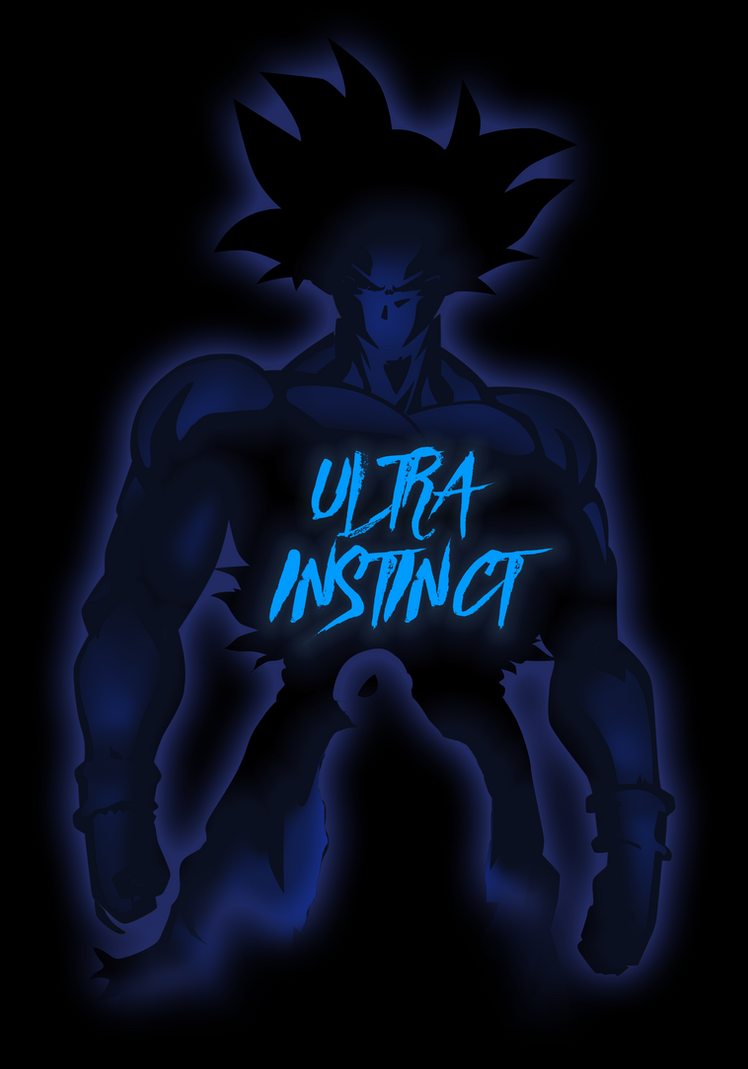 Ultra Instinct Goku [reverse version] by samuelzea