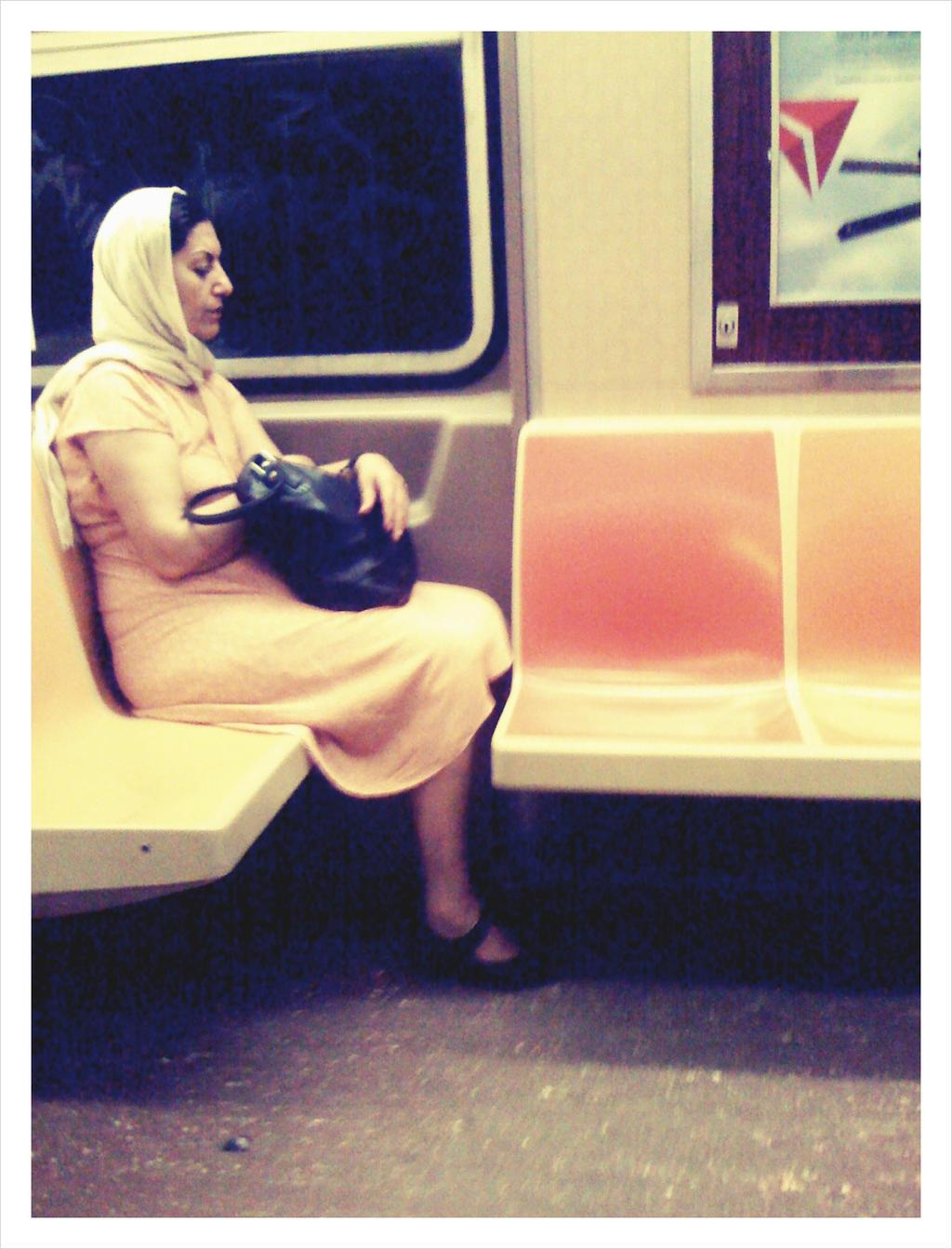 Subway Solitude by ancientDOMAIN