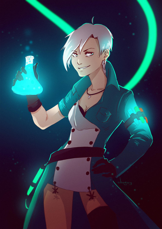 alchemist from Skyforge by Chuguy on DeviantArt