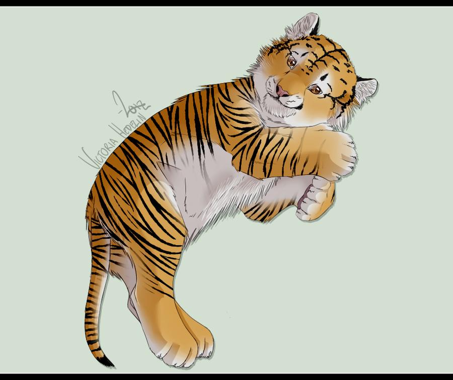~ Tiger cub by Conadrie
